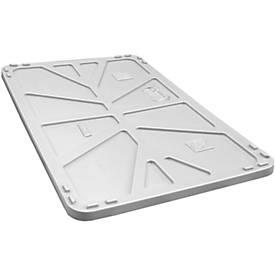 Deckel für Transport- und Stapelgroßbehälter