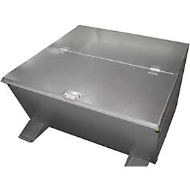 Deckel, für Kippbehälter Typ VD 800, verzinkt