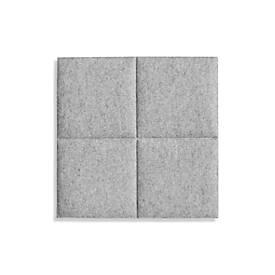 Image of Deckenpaneele colorPAD®, für Rasterdecken, B 620 x T 620 x H 32 mm, hellgrau, 4 Square