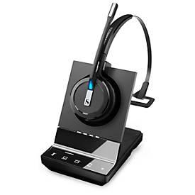 DECT-Headset Sennheiser SDW 5015, kabellos, monaural, UC-optimiert, Super-Wideband-Audio