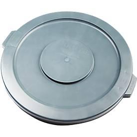 Deksel, voor Brute-afvalbak Ø 397 mm, rond, grijs