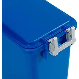 Dekselscharnier voor deksel voor afvalcontainer van 60 liter en 90 liter