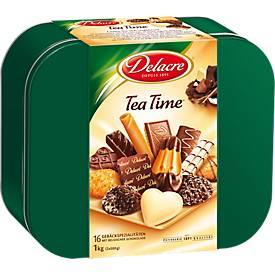 Delacre Biscuits Tea Time, boîte de 1 kg