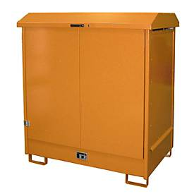 Depot voor gevaarlijke stoffen van het type GD-N2, oranje RAL2000