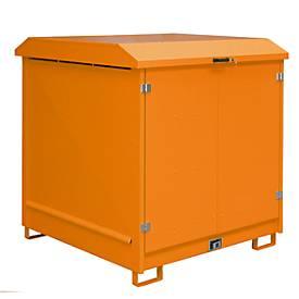 Depot voor gevaarlijke stoffen van het type GD-N4 oranje RAL 2000