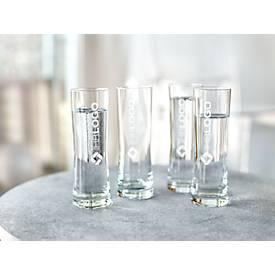 Designer Trinkglasset Fresh, 4 Stück