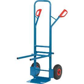 Diable pour le transport de chaises, charge 200 kg, largeur 580 mm