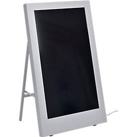Digitaler Kundenstopper SMART Signage Display PH43F, LED, HDMI/DVI-I/DP1.2, 24/7-Betrieb, weißaluminium