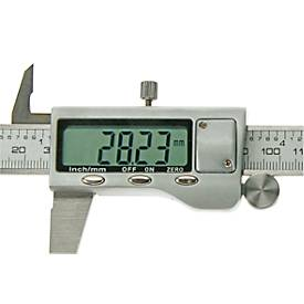 Digitaler Messschieber, Messbereich bis 150 mm/6