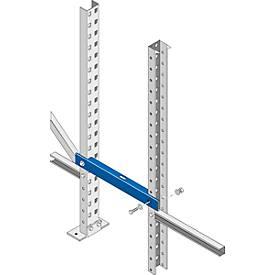 Distanzstück, Palettenregal PR 600, Rahmentiefe 850 o. 1100 mm, Distanz 100, 250 o. 300 mm