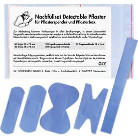 Distributeur de pansements Detectable, kit de réassort