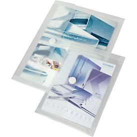 Dokumententaschen, mit Dehnfalte, PP, 10 Stück