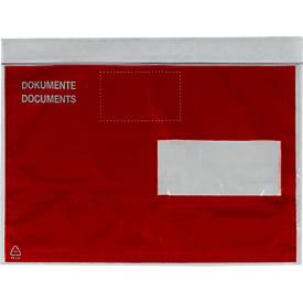 Dokumententaschen mit Sichtschutz-Postkonform
