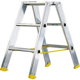 Doppelstufen-Stehleiter MEHRSI®, 3 Stufen, 4,5 kg