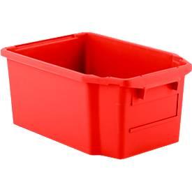 Drehstapelbehälter FB 600, 40 l, rot