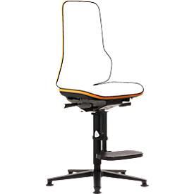 Drehstuhl Neon, Basis-Stuhl (ohne Polsterelement), Permanentkontakt, Gleiter, Aufstiegshilfe