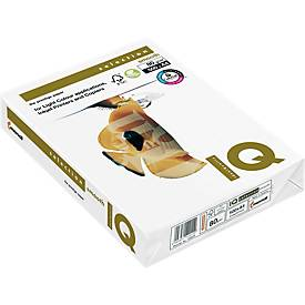 Druckerpapier IQ Smooth, 80 - 160 g/m², DIN A3 o. DIN A4, multifunktional