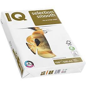 Druckerpapier IQ Smooth, 80 - 160 g/m², DIN A3 o. DIN A4, multifunktional