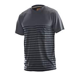Dry tech t-shirt grau/schwarz 3XL