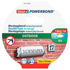 Dubbelzijdige zelfklevende tape tesa Powerbond® Outdoor