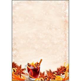 Duftendes Weihnachtsbriefpapier Sigel Christmas Flavour, A4, 90g/m², 25 Blatt