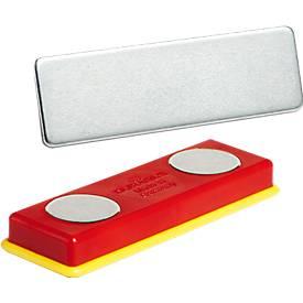 Durable Duracard Magnet Set, selbstklebend, 10 Stück