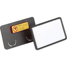 DURABLE Namensschilder CLIP CARD