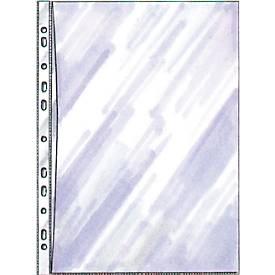 DURABLE Pochettes perforées transparentes SPECIAL en  PP, A4, ouverture par le haut et par le