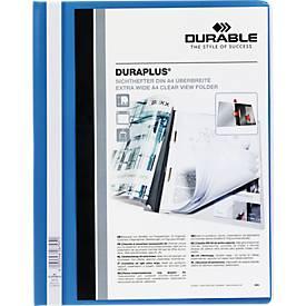 DURABLE Präsentations-Sichthefter DURAPLUS extrabreit, PVC-Hartfolie, 25 Stück