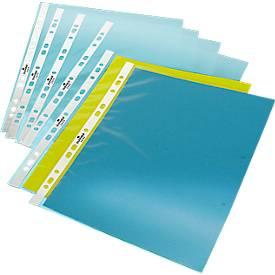 DURABLE Qualitäts-Prospekthüllen, DIN A4, genarbt, 100 Stück