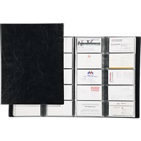 DURABLE Visitenkartenbuch, für 400 Visitenkarten, 20 Stück