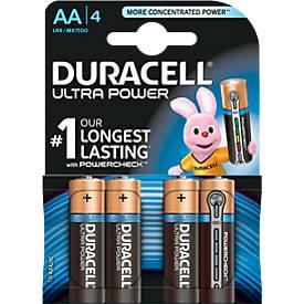 DURACELL® batterij Ultra Power, Mignon AA, 1,5 V, 4 stuks