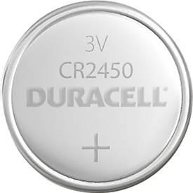 DURACELL® knoopcellen met lithium CR2450, 3 V, 1 stuk