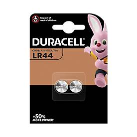 DURACELL® knoopcellen V13GA, LR44, pak van  2 stuks