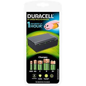 DURACELL® 1 Std.-Hi-Speed-Multi-Ladegerät für Mignon + Micro C, D + 9V Batterien