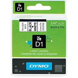 DYMO® Schriftbandkassetten, diverse Breiten und Farben, 1 Stück