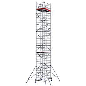 Echafaudage large mobile, hauteur de travail ca. 12,30 m