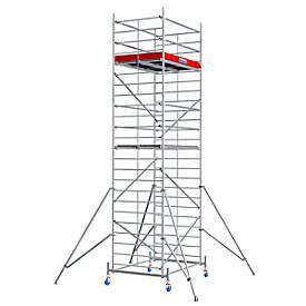Echafaudage large mobile, hauteur de travail ca. 7,30 m