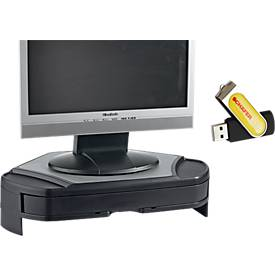 Eck-Monitorstand + USB-Stick Doming, GRATIS