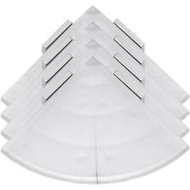 Image of Ecken für Bodenrost Yoga Rost®, silber, 4 Stück