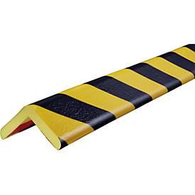 Eckschutzprofil Typ H+, 1-m-Stück, gelb/schwarz