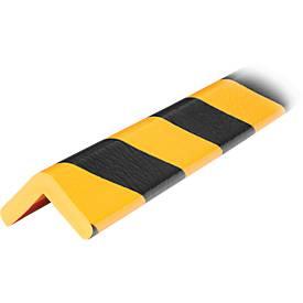 Eckschutzprofile Typ H, 1-m-Stück, gelb/schwarz