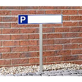 Edelstahl-Einschlageisen für P-Schilder