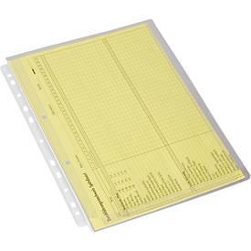 EICHNER Dehnfalten-Dokumentenhülle, DIN A4, oben offen, 10 Stück
