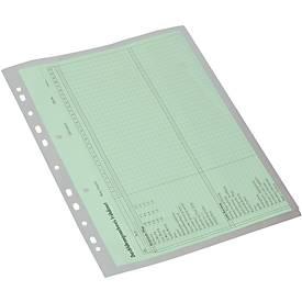 EICHNER Dokumentenhüllen, DIN A4, Seitenklappe, 10 Stück