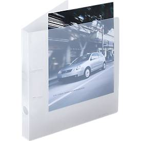 EICHNER Präsentationsringbuch, 2Ring-Mechanik, A4, PP, 10 Stück
