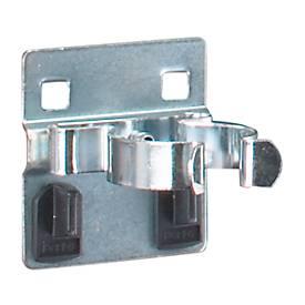 Einfache Werkzeugklemmen, für Lochblech-Platten-System, B 60 mm