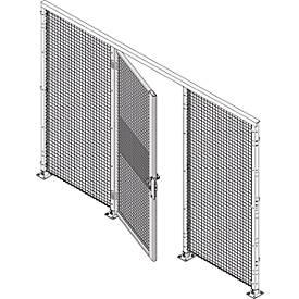 Einflügeltür, H 2070 mm, Einsteckschloß mit Riegelsperre