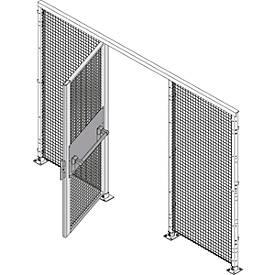 Einflügeltür, H 2070 mm, mit Panikschloß