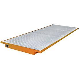 Einhängewannen für Plattenregal Typ EHW 3600